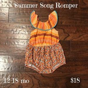 Matilda Jane Baby Romper, Size 12-18 months, NWT